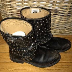 Short Moto Studded Boot by Frye